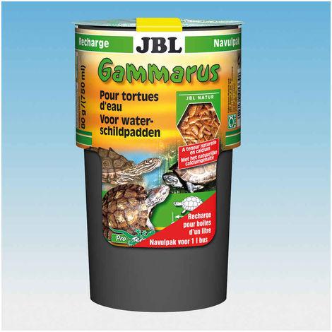 Nourriture Gammarus en Recharge pour Tortue d'Eau JBL 80g