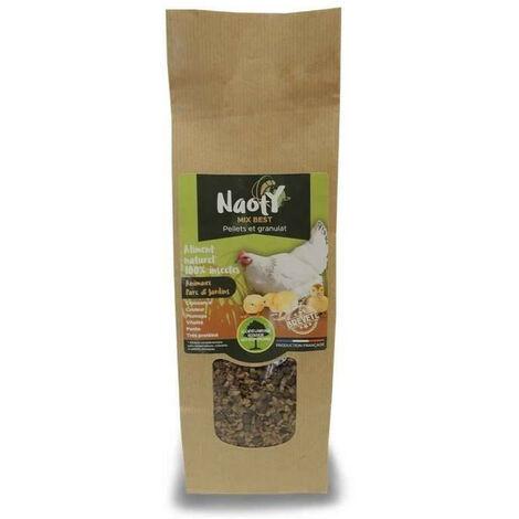 Nourriture, Mix best insectes soufflés pour animaux parcs et jardins, 400 g.