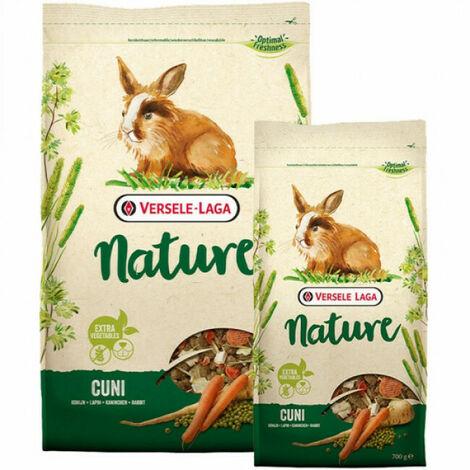 Nourriture pour lapin nain Nature Cuni Versele Laga Sac 9 kg