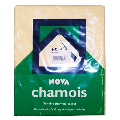 Nova Car Care HOL400 Premium Chamois Leather Extra Large 4 Sq Ft