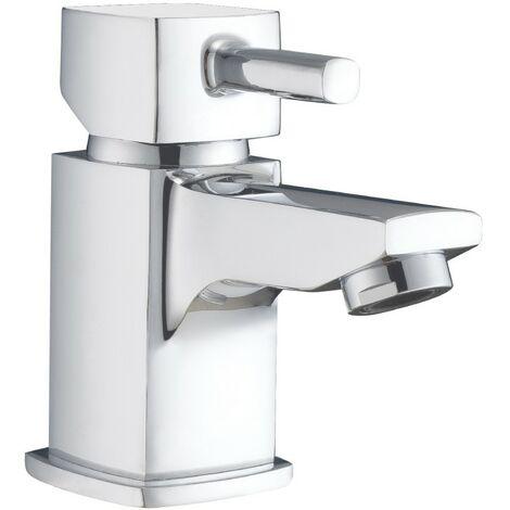 Nova Chrome Mini Basin Mono Mixer & Slotted Sprung Basin Waste