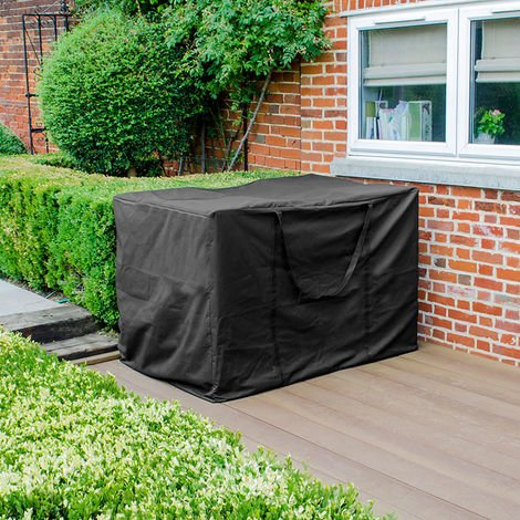 Nova Large Outdoor Storage Weatherproof Bag Garden Chest Container Patio Furniture Black Pvc Protector P 1430322 11312356 1 Jpg