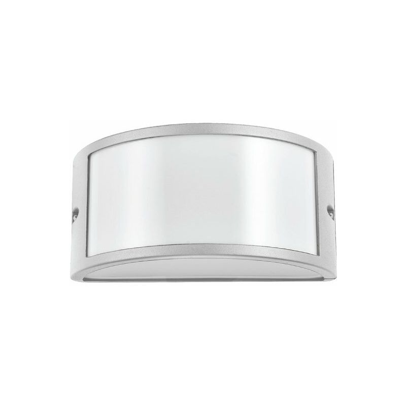 Nova Line - Giotto Silver Applique Da Esterno 1Xe27 Ip54