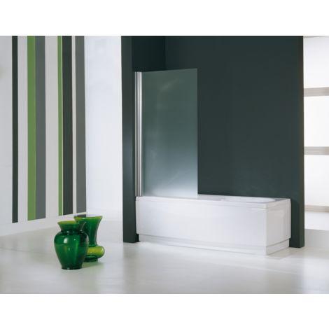 Novellini mampara de bañera 75x150 cm Aurora con puerta giratoria de 180° | 75x150cm