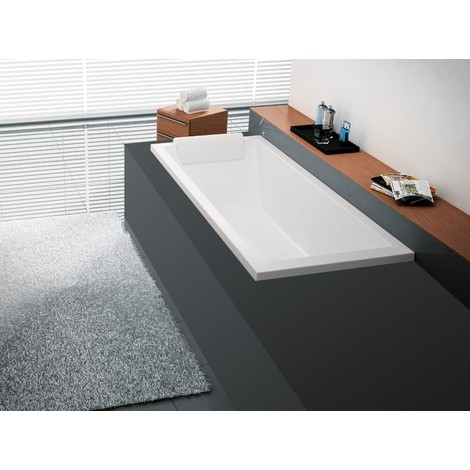 Novellini vasca da bagno ad incasso calos - Vasche da bagno quadrate ...
