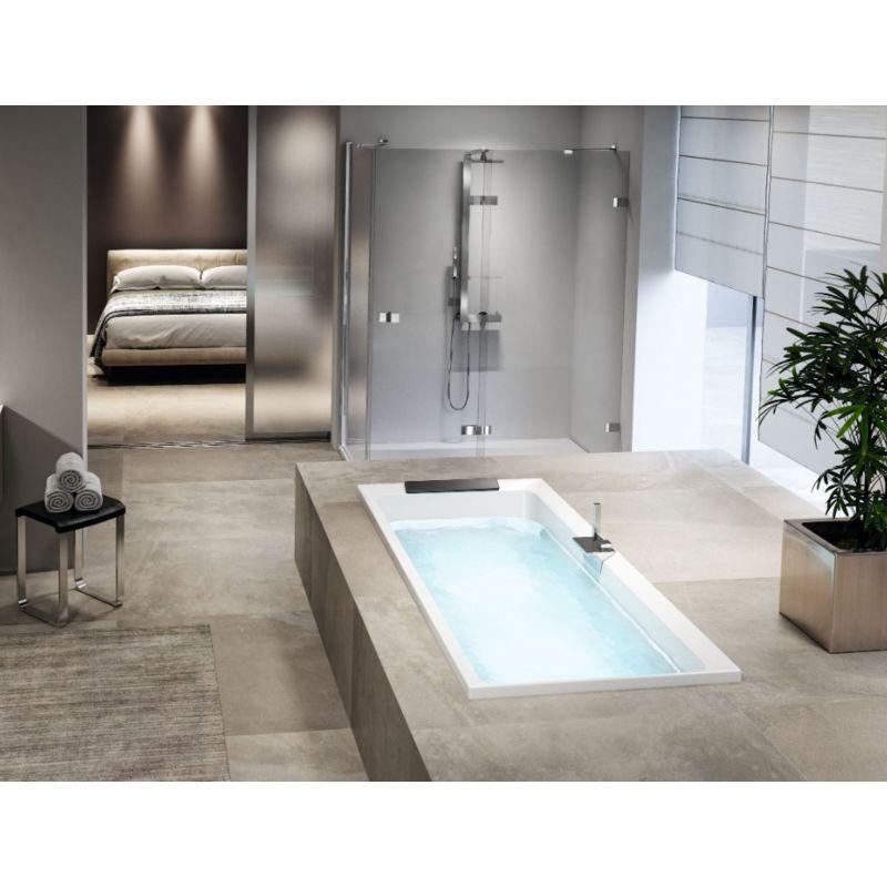 Novellini vasca da bagno ad incasso Divina 35   Bianco ...