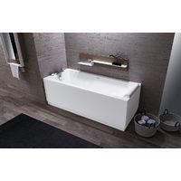 Novellini vasca da bagno Calos 2.0 su telaio con due pannelli