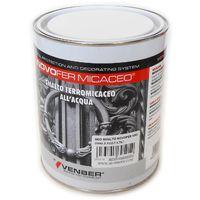Novofer 2,5lt smalto ferro micaceo acrilico all'acqua per interni ed esterni, colori canna di fucile