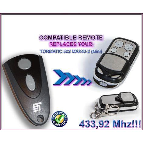 EcoStar RSE2 Compatible T/él/écommande 4 canaux 433,92Mhz rolling code remplacement de haute qualit/é pour LE MEILLEUR PRIX !!! EcoStar RSC2
