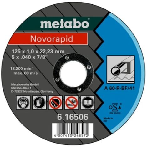 Novorapid 125 x 1,0 x 22,23 mm, acero, TF 41 (616506000)
