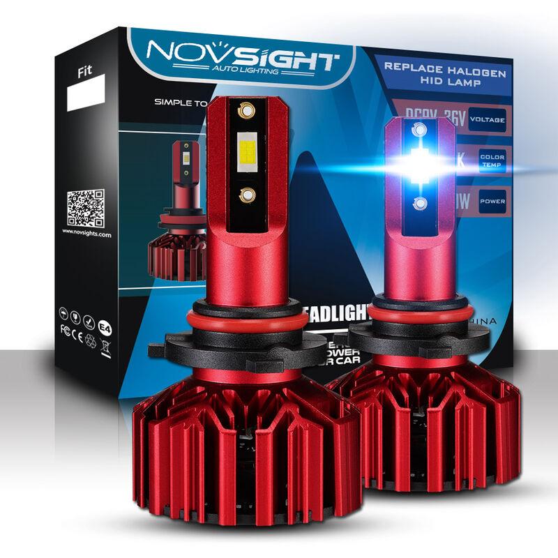 H1 H4 H7 H11 9005 9006 Kit de conversion d'ampoules de phares a LED de voiture 10000LM 60W / set 6000K Automobiles Led Lights 12V Auto Head Lamp
