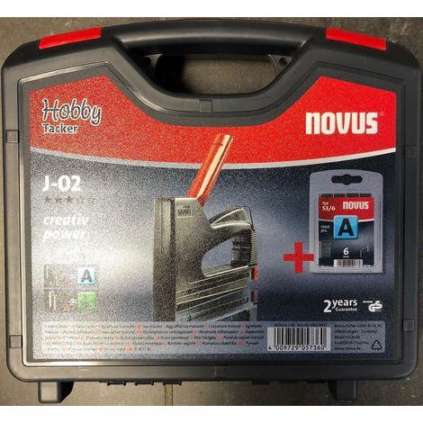 Novus Tacker J-13 worker Handtacker für Feindrahtklammern bis 10 mm Länge