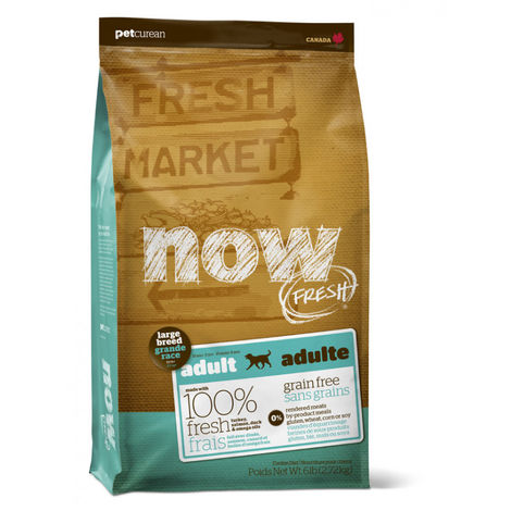 Now Grain Free Large Breed Adult Dog 11,3kg