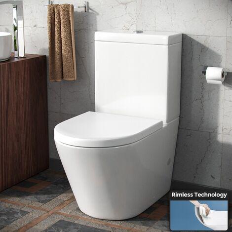 Nox Close Coupled Toilet & Soft Close Seat
