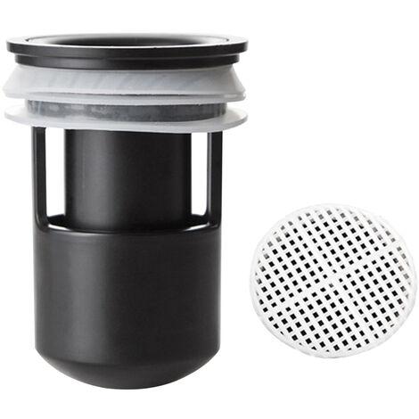Noyau de drain de sol deodorant + filtre adecouper 2424 noir