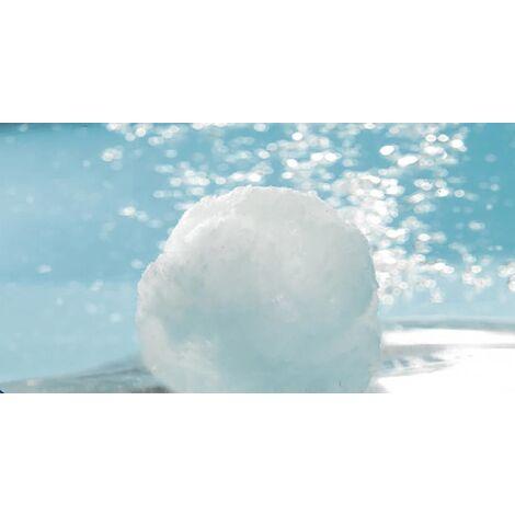 Noyen de filtration, 700g d'Aqualoon = 25 kg de sable