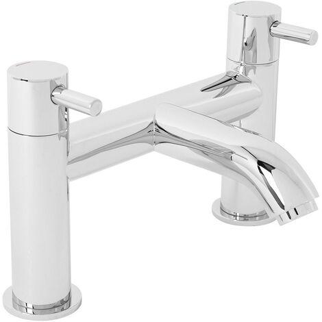 NRG Chrome Bath Filler Mixer Tap Designer Bathroom Tub Lever Faucet