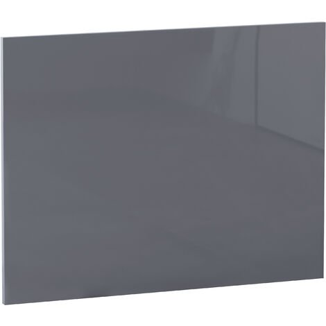 NRG Modern Bathroom L Shaped Bath Panels MDF End Bath Panel 700mm Gloss Grey