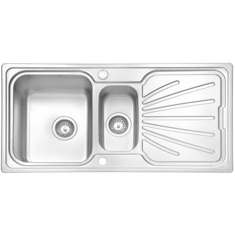 N.S.S - Apollo 1.5 Bowl 0.8mm Stainless Steel Sink