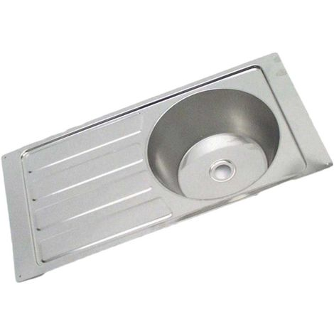 N.S.S - Caravan Sink, Single bowl single drainer Reversible.