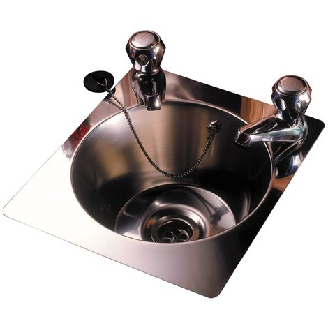 N.S.S - Large Rectangular Basin Sink With Tap Holes