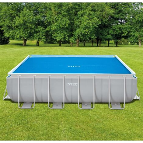 "main image of ""ntex Solar Pool Cover Rectangular 488x244 cm - Blue"""