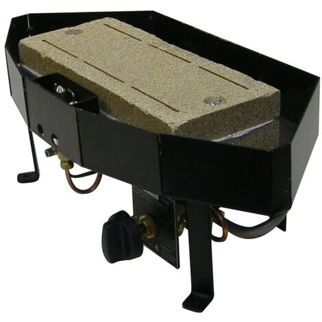 """main image of """"Nu Flame Gas Tray Fire, 16 Inch"""""""