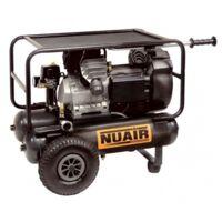 Nuair - Compresseur à air 3HP 2,2kW 2x11L Entraînement direct Lubrifié - GVM/11+11