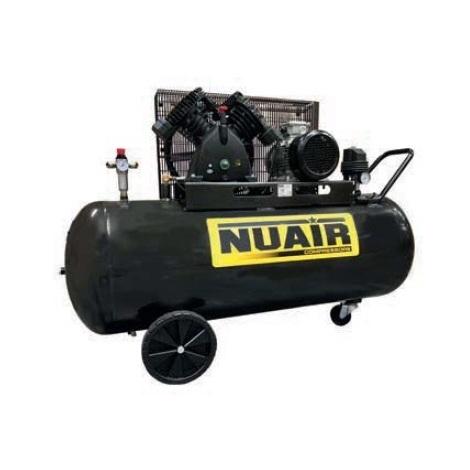 Nuair - Compresseur Pro cylindre en V 3CV 2,2kW 150L 10 bar Entraînement par courroie - SKM 15-150-3M
