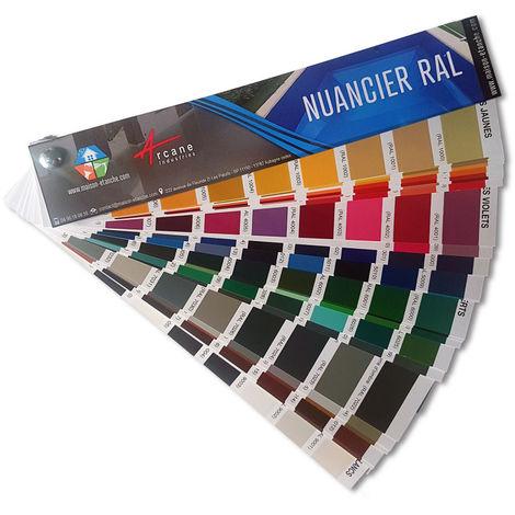 NUANCIER RAL - ARCANE INDUSTRIES - Format Papier - 21cm x4cm - Format Papier