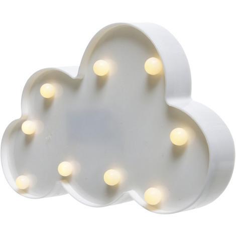 Nube Blanca Con Led - NEOFERR