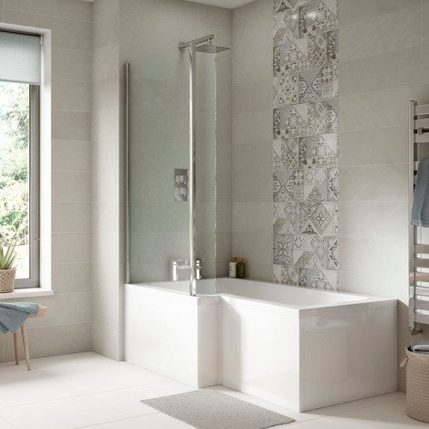 Nuie 1600mm Square Front Bath Panel - WBS303
