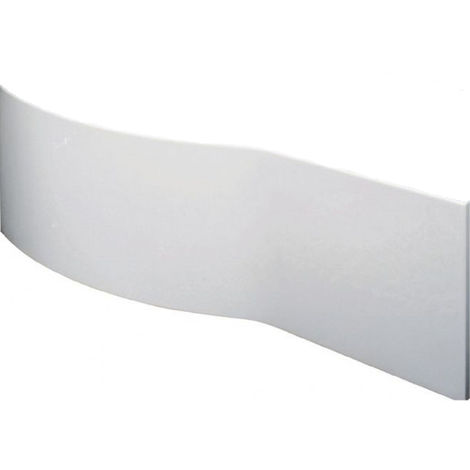 Nuie 1700mm B Shape Front Bath Panel - WBB200