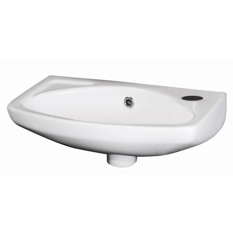 Nuie 450mm Wall Hung Basin with 1 Tap Hole - NCU842