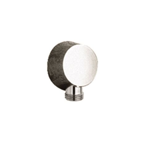 Nuie A3203 ǀ Modern Bathroom Shower Accessories Round Outlet Elbow, 53mm x 53mm, Chrome