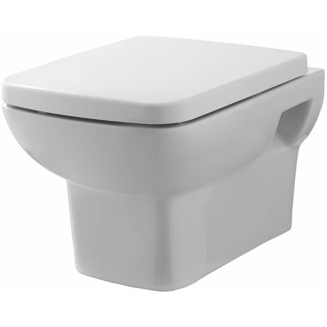 Nuie Ambrose Wall Hung Toilet - Excluding Seat