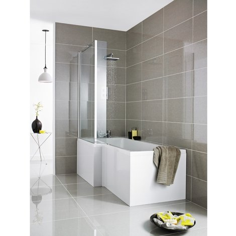 Nuie Amelai 1700mm Square Front Bath Panel - NMP135