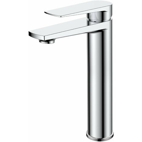 Nuie Bailey Tall Basin Mixer Tap - Chrome