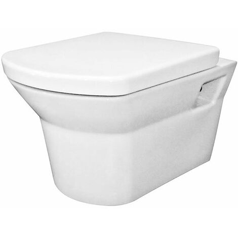 Nuie Clara Wall Hung Toilet WC 525mm Projection - Excluding Seat