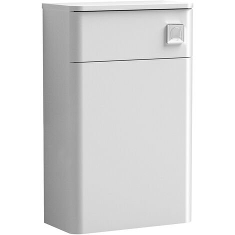 Nuie Core Back to Wall WC Toilet Unit 500mm Wide - Gloss White