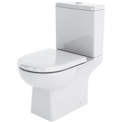 Nuie CSS004 Asselby | Asselby Close Coupled WC, White
