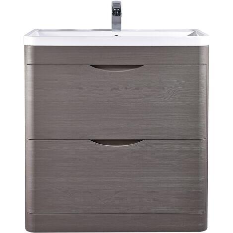 Nuie Eclipse Floor Standing Vanity Unit with Basin 1 - 800mm Wide