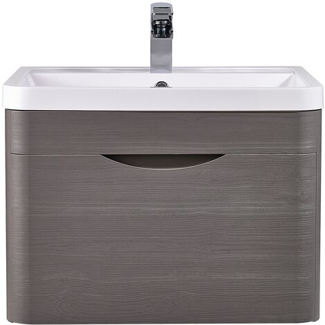 Nuie Eclipse Wall Hung Vanity Unit with Basin 1 - 600mm Wide