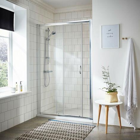 Nuie Ella 1200mm Sliding Shower Door - ERSL12