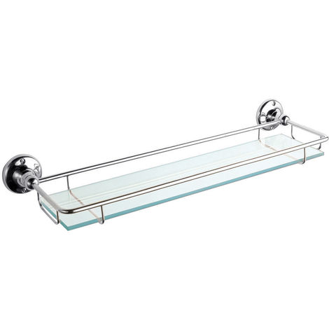Nuie LH305 Storage | Gallery Shelf, Chrome