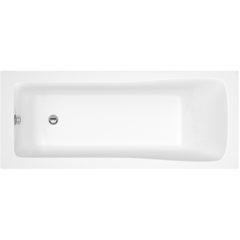 Nuie Linton 1800mm x 800mm Square Single Ended Bath - NBA414
