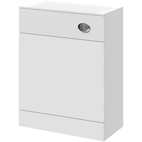 Nuie Mayford Back to Wall WC Toilet Unit 600mm Wide x 300mm Deep - Gloss White