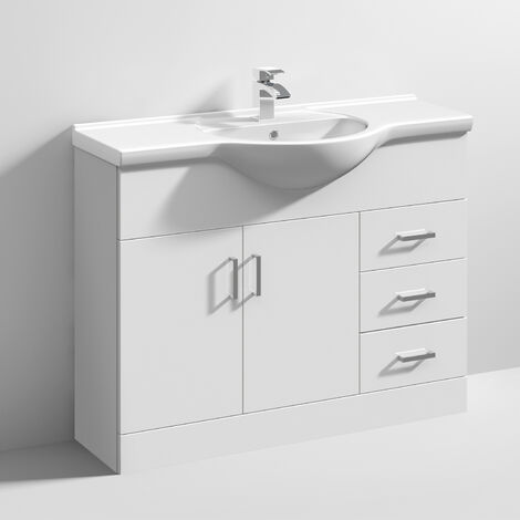 """main image of """"Nuie Mayford Bathroom Vanity Unit with Basin 1050mm Wide - 1 Tap Hole"""""""
