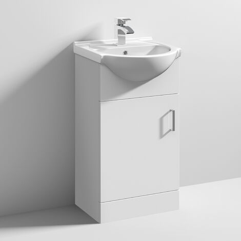 """main image of """"Nuie Mayford Bathroom Vanity Unit with Basin 450mm Wide - 1 Tap Hole"""""""