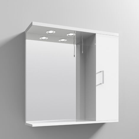 Nuie Mayford Complementary Bathroom Cabinet 750mm W White